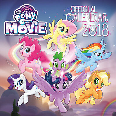 My Little Pony Official 2018 Square Wall Calendar - BRAND NEW  (SKU 238)