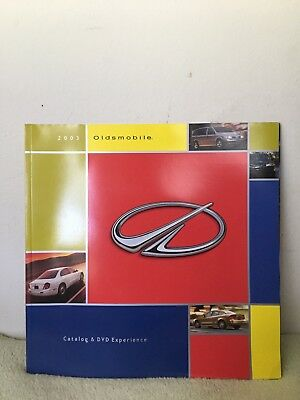 2003 Oldsmobile Catalog And Dvd Experience