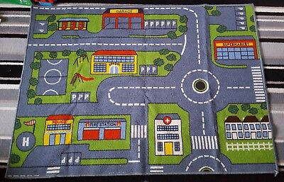 Road Play Mat Cars