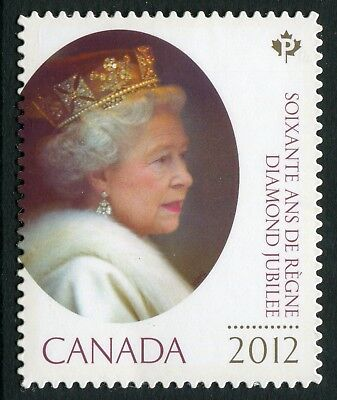 "Weeda Canada 2519i VF NH Die cut ""Diamond Jubilee""  from Annual Collection"