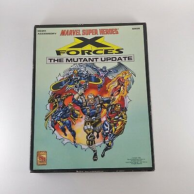 Marvel Super Heroes: X Forces The Mutant Update Unpunched Blackbird TSR 6905