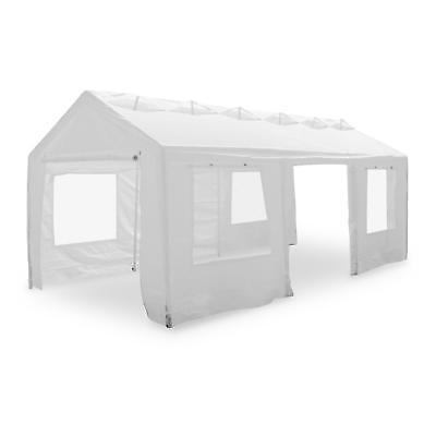 Gazebo Garden Structure Party Event Tent Marquee White Strong Easy Install 3X6 M