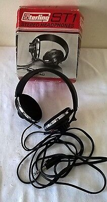 Vintage Sterling ST1 Stereo Headphones