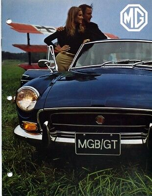 1970 MGB GT Sales Brochure