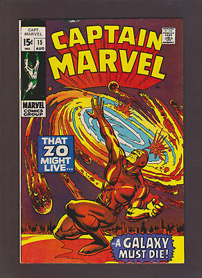 Captain Marvel #15 (Aug 1969, Marvel)