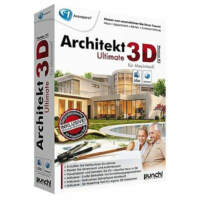 Architekt 3D Ultimate X5 MAC Box deutsch CD/DVD EAN 4023126112118