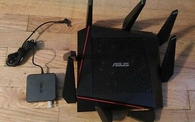 ASUS RT-AC5300 Tri-Band Wireless AC5300 Gigabit Router WORKING BUT!!!