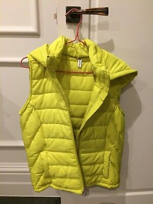 Puffa Vest | Lime | Size S