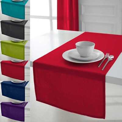 Today 257561 Chemin de table Coton Pomme d'amour/Rouge 50 x 150 cm