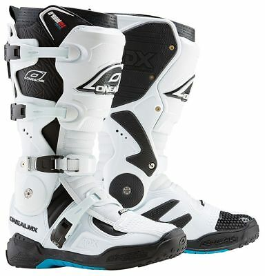 Oneal NEW Mx 2018 RDX 2.1 White Adult Motocross Dirt Bike Boots