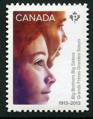 "Weeda Canada 2645i VF NH Die cut ""Big Brothers Big Sisters"" Annual Collection"