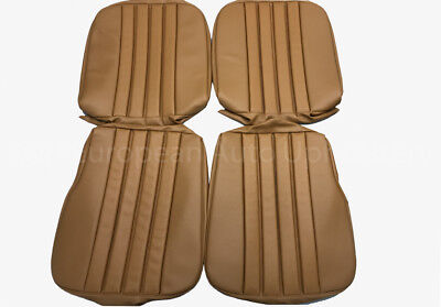 MERCEDES 230SL, 250SL, W113 1963-68 Seat Covers kit 63-71 MB - Tex Vinyl Tan