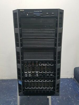 Dell Poweredge T620, 2 x E5-2640 6 CORE 2.50GHz, 128GB, 4 x 600GB SAS