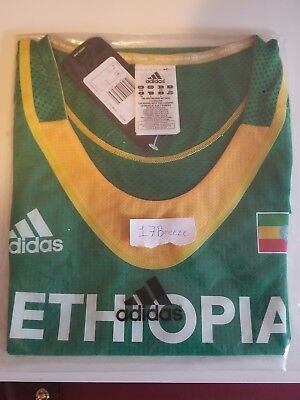 Adidas Ethiopian Track and Field singlet, size M. Ethiopia