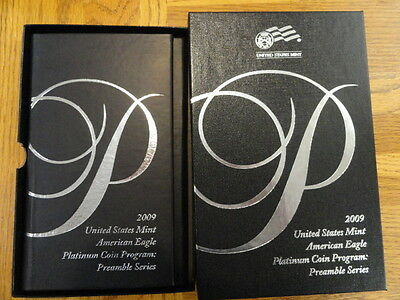 2009-W 1 oz Proof Platinum American Eagle Coin - with Box and Certificate