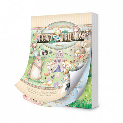 Hunkydory - The Little Book of Foxy and Friends - LBK196