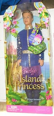 The Island Princess Prince Antonio 2007 Barbie Doll
