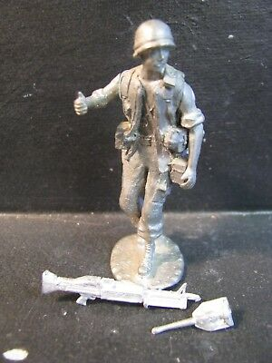 54Mm Valiant Us Army Or Marine Machine Gunner Vietnam
