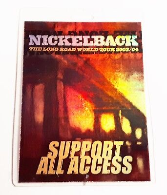 Rare - NICKELBACK BACKSTAGE PASS - 2003 Tour