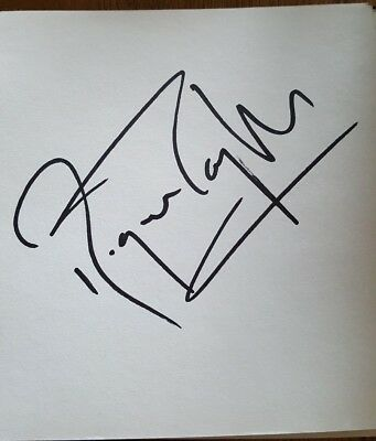 Roger Taylor Signed In Person QUEEN Brian May Freddie Mercury