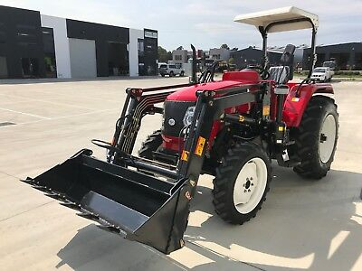 New 60hp Tractor, 3-Year Warranty with Front end Loader