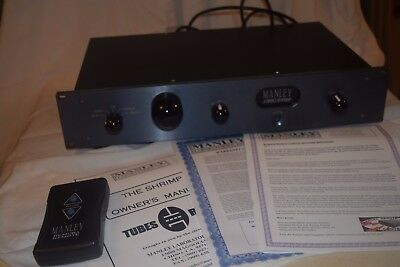Manley Jumbo Shrimp Line Stage Tube Preamplifier. Mint Condition!