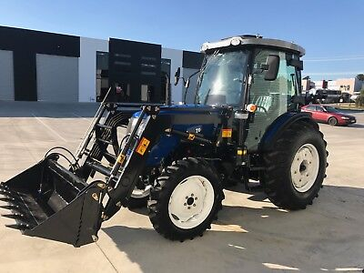 New 70hp Tractor, 3-Year Warranty with Front end Loader