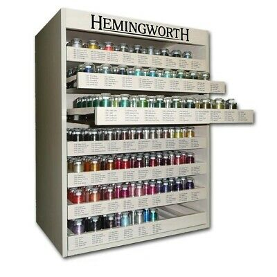 Hemingworth Storage Cabinet With Complete 300 Cones Of Hemingworth 1000M Thread
