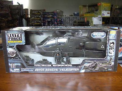 1/18 BBI Elite Force AH-64 Apache Attack Helicopter New in Box