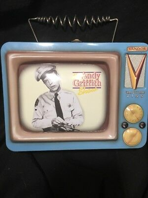 Andy Griffith Show: Barney Fife Security Retro Television Tin Collectible RARE!!