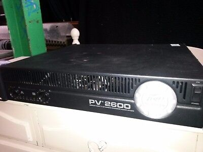 Peavey Pv2600 Power Amplifier