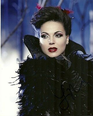 Once Upon A Time Lana Parrilla Autographed Signed 8x10 Photo COA