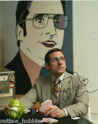 Steve Carell Autographed Signed 8x10 Photo COA