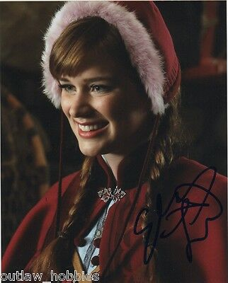 Elizabeth Lail Once Upon A Time Signed Autographed 8x10 Photo COA #3