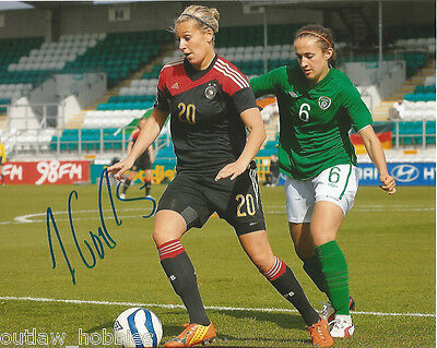 Germany Lena Goessling Autographed Signed 8x10 Photo COA