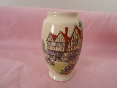 Royal Winton small red roof vase.