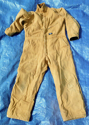 Blizzard Pruf Walls Canvas Insulated Work Coveralls Mens Xl Regular