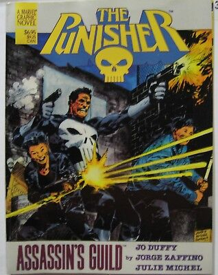 The Punisher Assassin's Guild Jo Duffy Marvel Graphic Novel 1988 1st Print