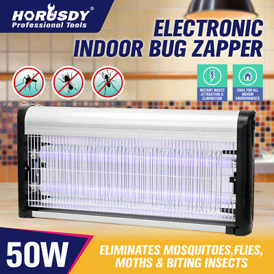 Insect Killer Pest Fly Mosquito Bug Electric Zapper Catcher Trap Alloy 20/30/50W