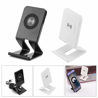 Wireless Qi Charger Charging Station Stand For Samsung Note5 S6/S6 Edge HTC 8X