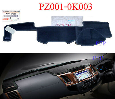 Genuine Dash Mat Grey Dashmat Dashboard Cover Fit Toyota Hilux 2005-2015 09 Ute