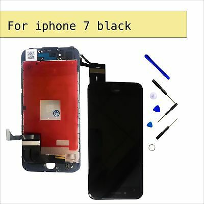"""LCD Touch Screen Digitier Display Glass Replacement for Black iPhone 7G 4.7"""""""