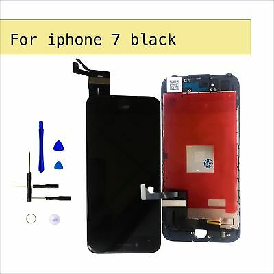 """For Black iPhone 7 4.7"""" LCD Touch Screen Digitizer Display Replacement Assembly"""