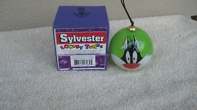 Looney Tunes ( SYLVESTER ) The Cat Christmas Ornament RARE 1996 Warner Bros