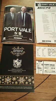 Port vale v Grimsby town 7-10-17 full package. Aspin  and Rudge return to the...