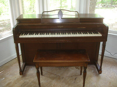 "1945 Antique PIANO  Lester Philadelphia USED RARE VINTAGE  #138009 53"" TALL"