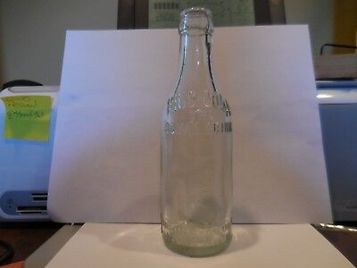 Vintage RARE EMBOSSED KING-COLA SODA BOTTLE Weyers Cave,Va.(THE ROYAL DRINK)