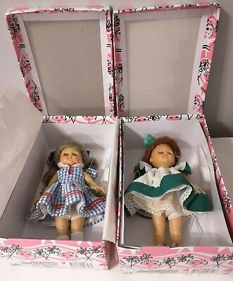 2 Rare Vintage VOGUE GINNY DOLLS hoop 2hp248 and Ireland 3HP259 8""