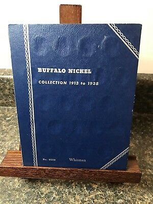 Buffalo Nickel Collection 1913 To 1938 Folder No.9008  30 Coins Included