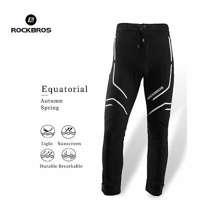 RockBros Cycling Pants Casual Reflective Breathable Long Trousers Equatorial